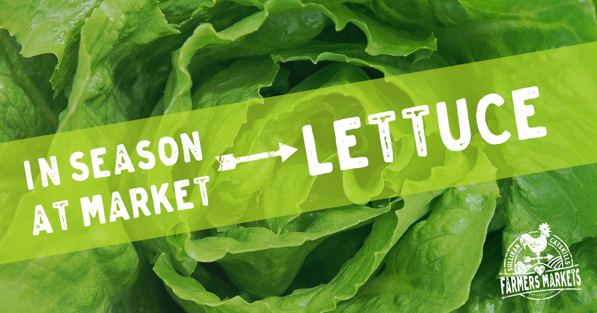 Lettuce Homegrown with Heart in the Sullivan Catskills