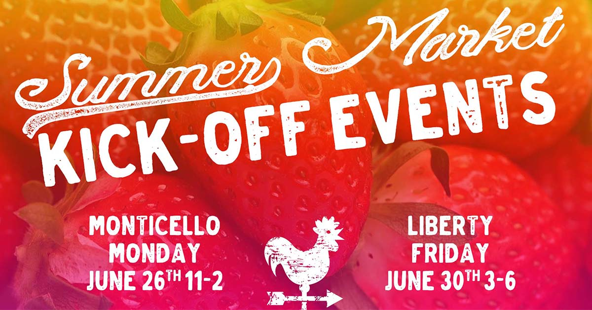 Sullivan County Farmers Markets Summer Market Kickoff Events