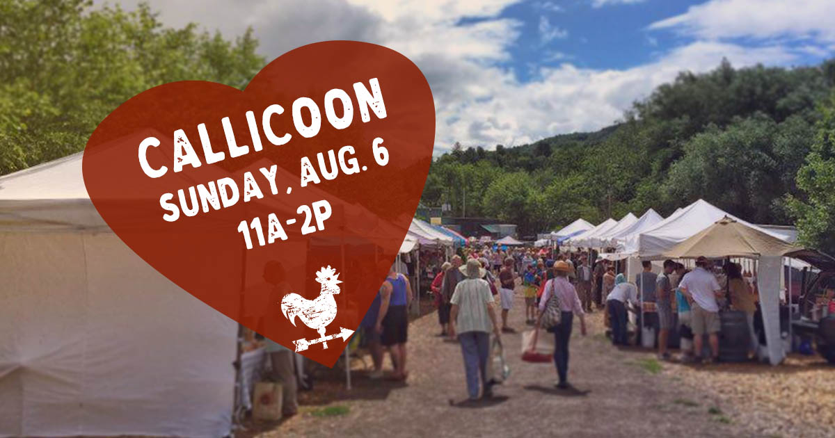 Callicoon Farmers Market in the Catskills