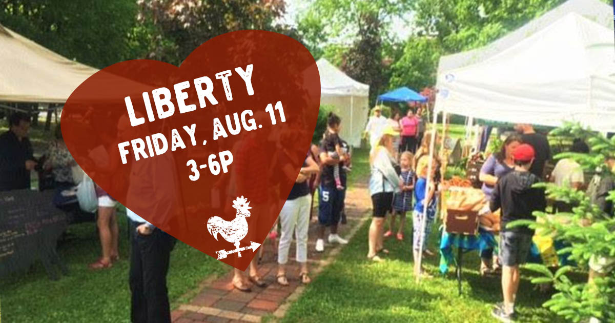 Liberty Farmers Market in the Catskills