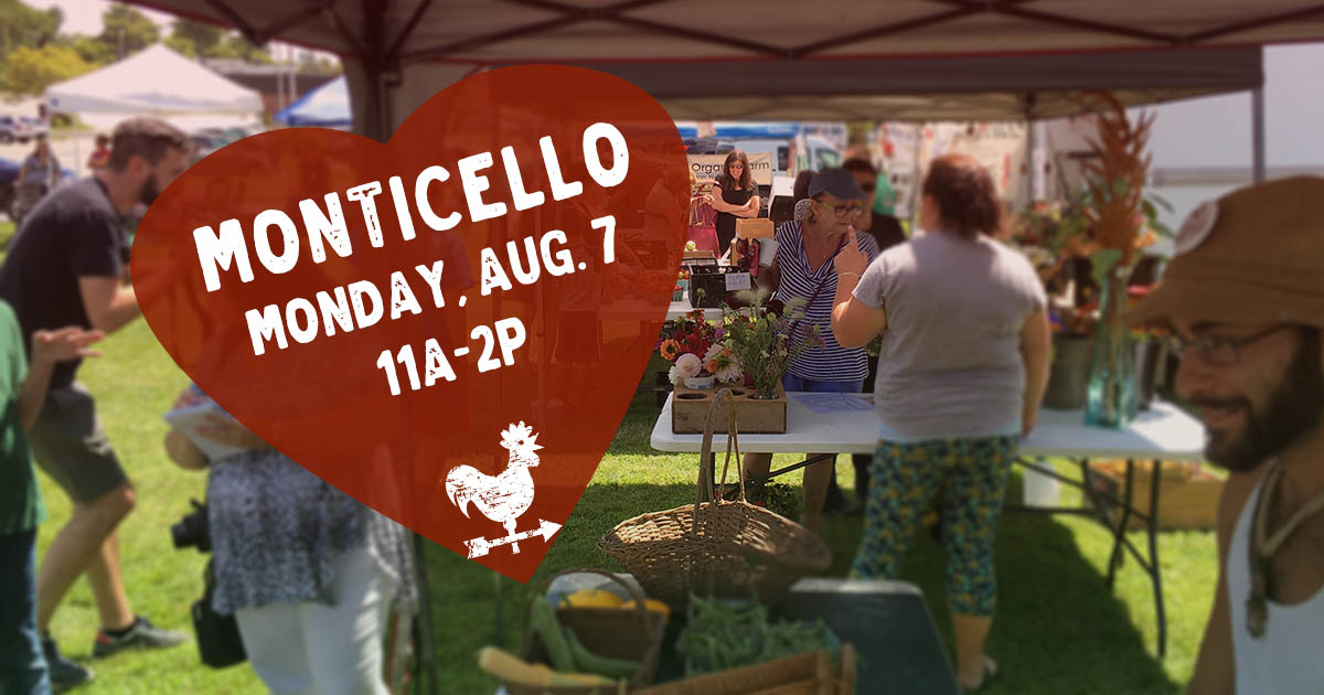 Monticello Farmers Market in the Catskills