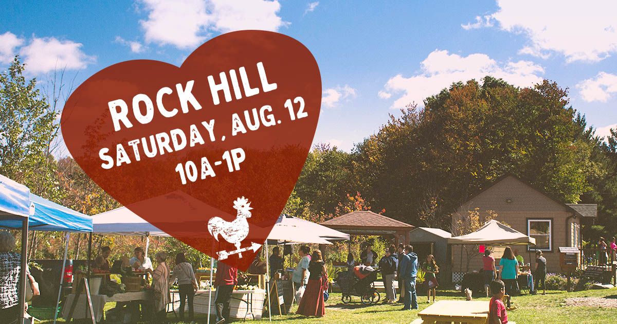 Rock Hill Farmers Market in the Catskills