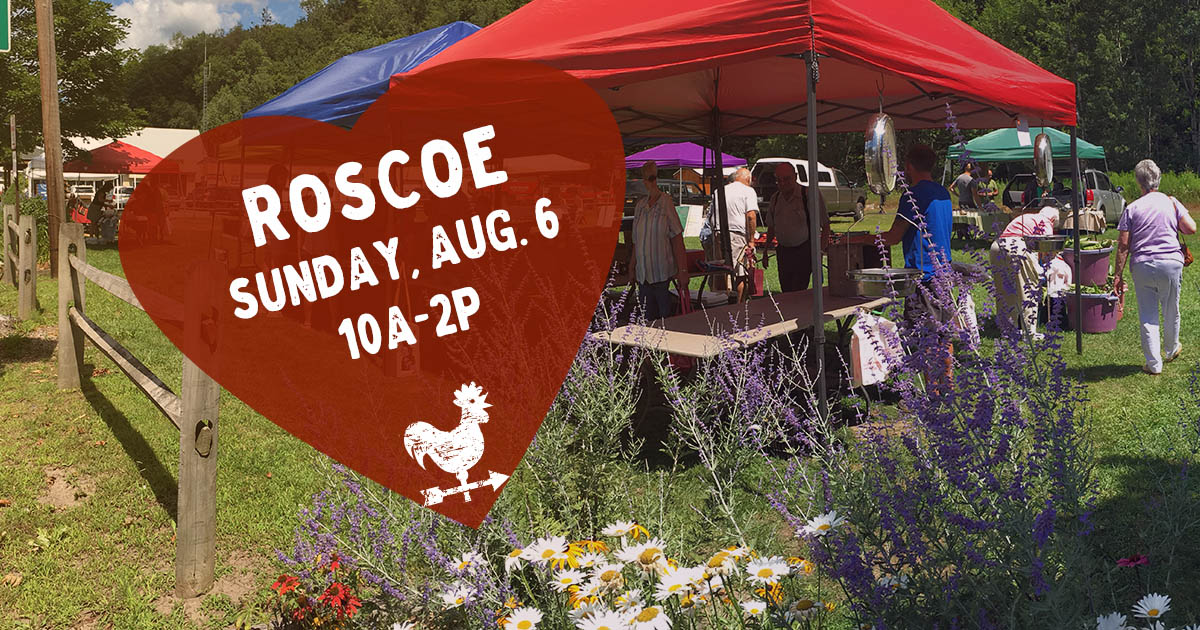 Roscoe Farmers Market in the Catskills