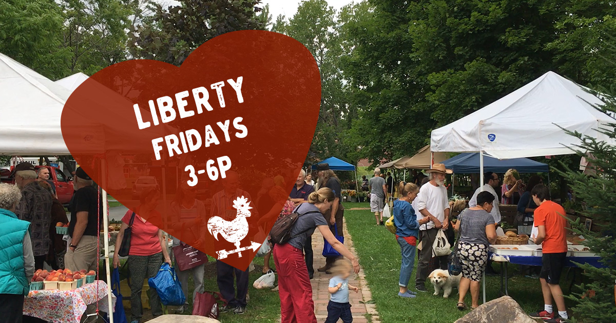 Liberty Farmers Market in the Sullivan Catskills