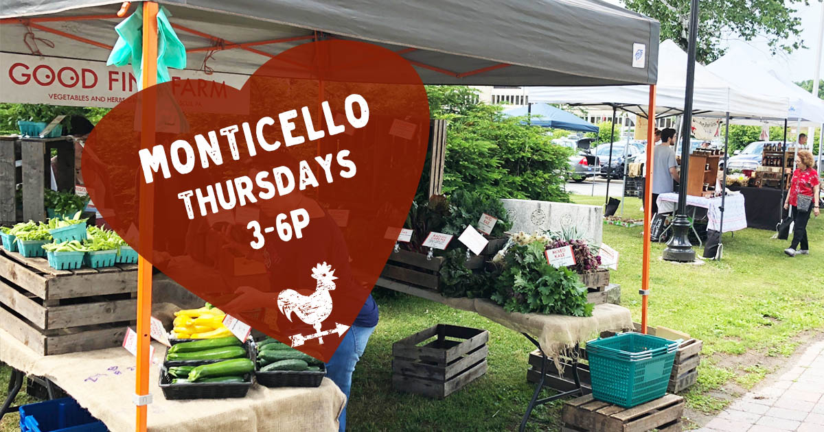 Monticello Farmers Market in the Sullivan Catskills